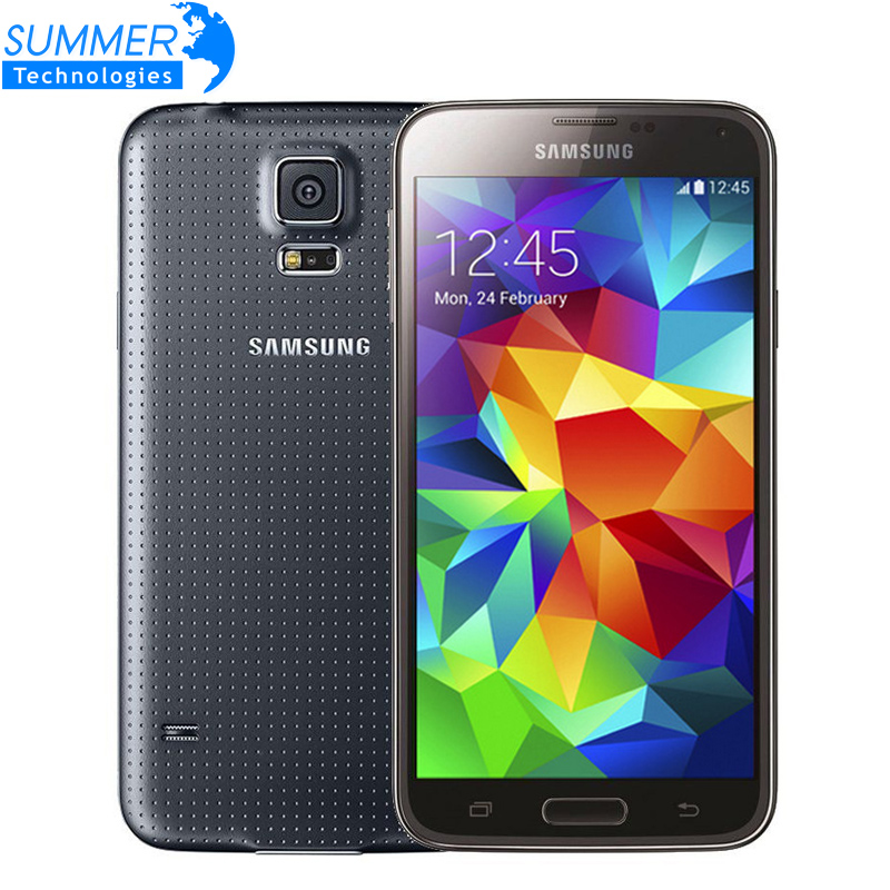 "Original Unlocked Samsung Galaxy S5 i9600 Cell Phones 5.1"" Super AMOLED Quad Core 16GB ROM NFC Refurbished Mobile Phone(China (Mainland))"