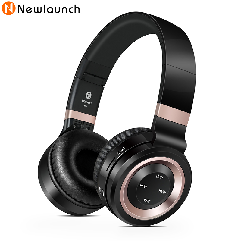 Foldable Wireless Noise Cancelling Bluetooth Headphone Mp3 Stereo Music Player Sport Earphone With Mic Support TF Card For Phone от Aliexpress INT