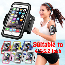 Sports Arm Band Case For Xiaomi Redmi 2 3 Mi5 Mobile Phone Arm Holder Capinha For iPhone 6 6S Samsung A5 J5 S6 S7 Grand Prime