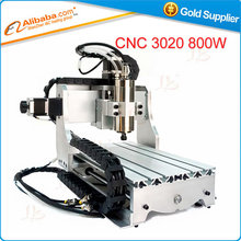 Free shipping CNC 3020 Z-S 800W 3 axis engraving machine mini wood CNC Milling router machine
