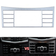 Buy Car Interior Center Console Button Switch Panel Frame Cover Trim Styling Mercedes Benz W212 E Class 2010-2015 Aluminum for $13.93 in AliExpress store