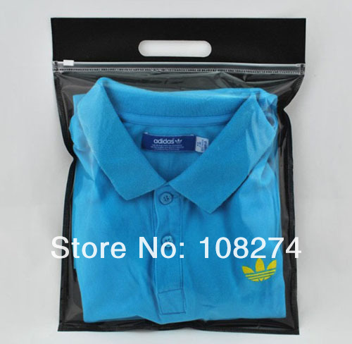 35 27cm 5cm clear plastic and non woven zip lock bag for