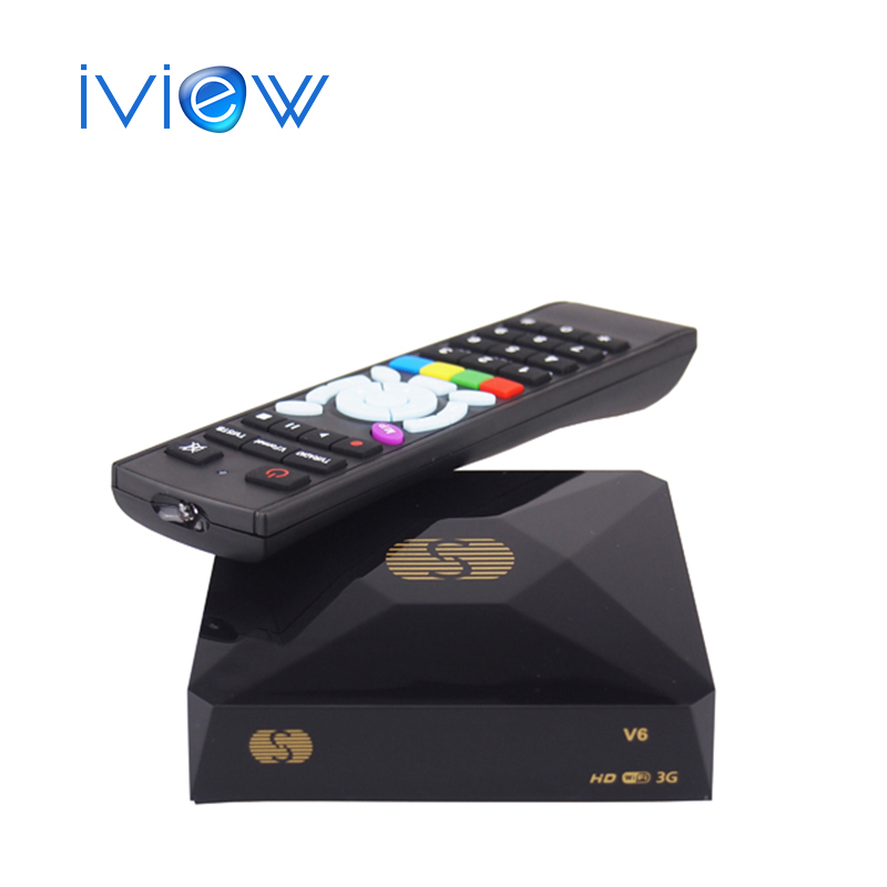 Original S-V6 Mini HD Satellite Receiver V6 S Support CCCAMD Newcamd WEB TV USB Wifi 3G Biss Key Youporn DVB Box S-V6(China (Mainland))