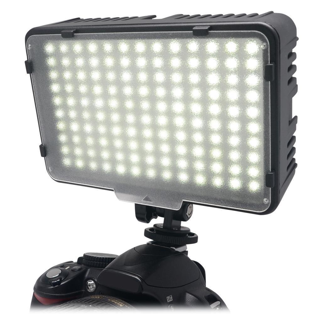 Mcoplus 130 LED Video Photography Light Lighting for Canon Nikon Sony Panasonic Olympus Pentax & DV Camera Comcorder VS CN-126(China (Mainland))