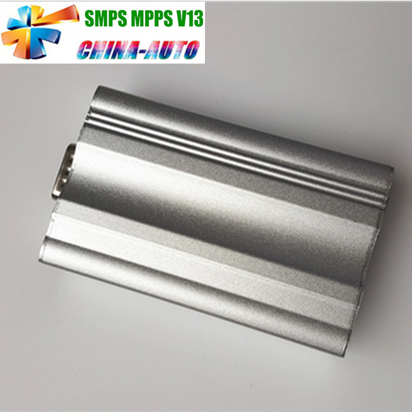 2016 New Arrival Metal Box Chip Tuning SMPS MPPS V13 EDC16 CAN Flasher A+ Quality MPPS V13 With Multi-Language(China (Mainland))