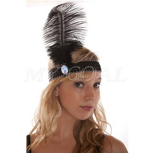 Повязка с перьями на голову