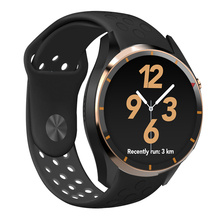 Buy Newest Android 5.1 OS I3 Smart Watch MTK6580 ROM RAM 4GB 512MB Support 3G wifi GPS Browser Google play Heart Rate Monitoring for $118.21 in AliExpress store