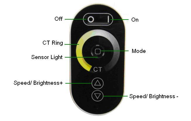 Купить Из светодиодов wi-fi контроллер ; DC12-24V вход ; 4A * выход 3 3-в-1 ( диммирования, Кт, Rgb ) поддержки apple / android программного обеспечения