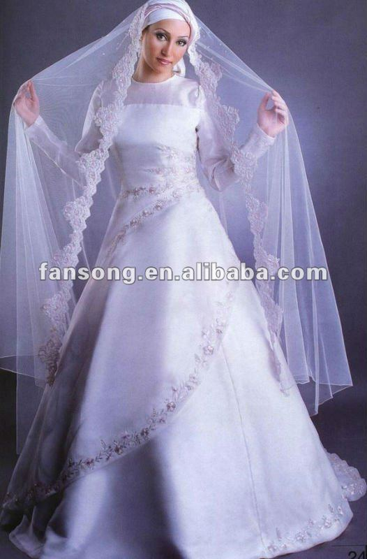 Muslim Wedding Dresses Houston : Wedding dresses muslim head dress