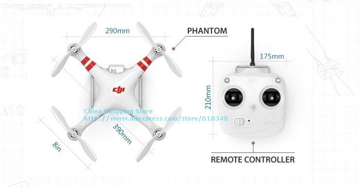 DJI Phantom rc quadcopter drone 7