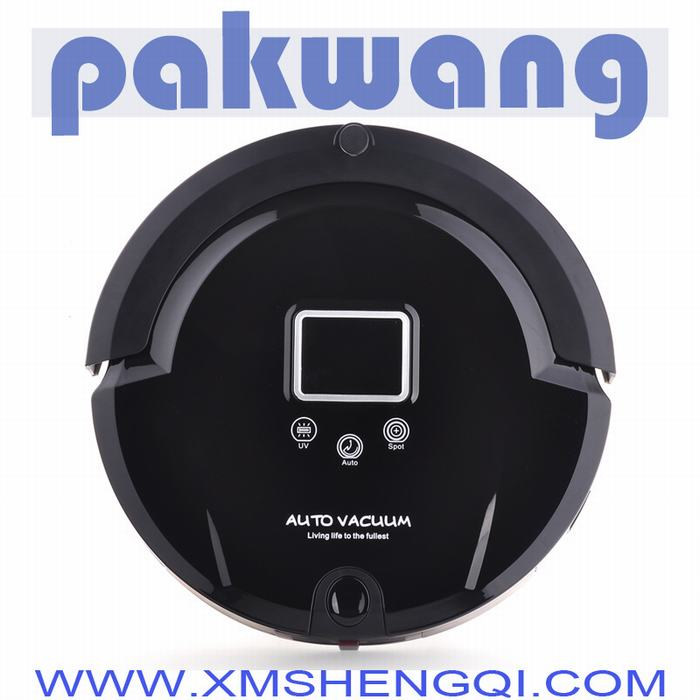 (Free to world) Robot Vacuum Cleaner for Home, LCD Screen,Touch Button,Schedule,Virtual Wall,Self Charging,china vacuum cleaner(China (Mainland))