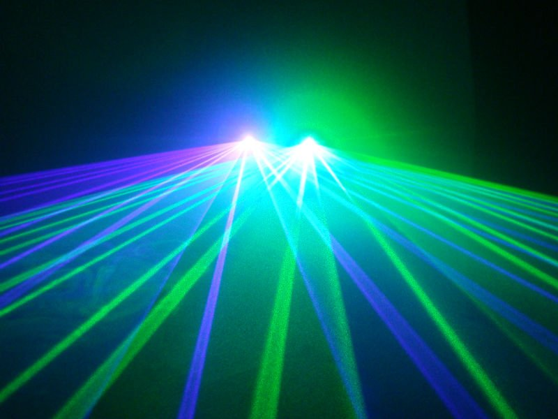 New 2013 holiday laser 40mW Green laser+100mW Violet Blue disco ...