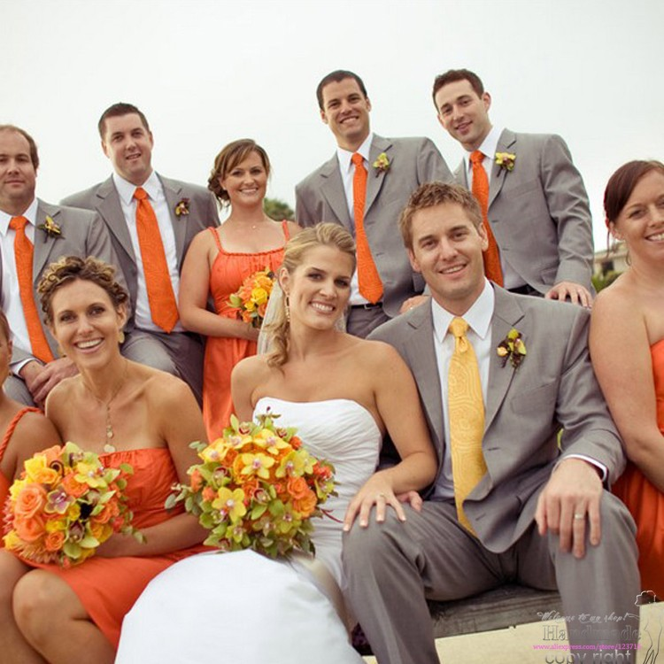 Champagne And Orange Wedding Colors Tbrb Info