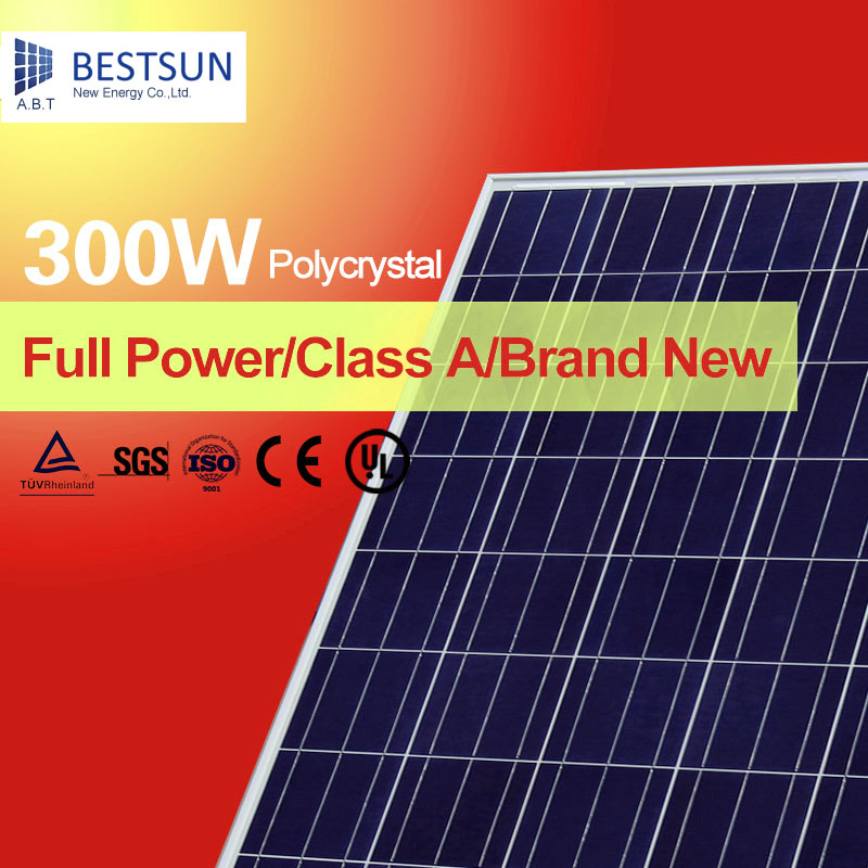 polycrystalline silicon high power efficiency 300w solar panel with tuv iec ce poly. Black Bedroom Furniture Sets. Home Design Ideas