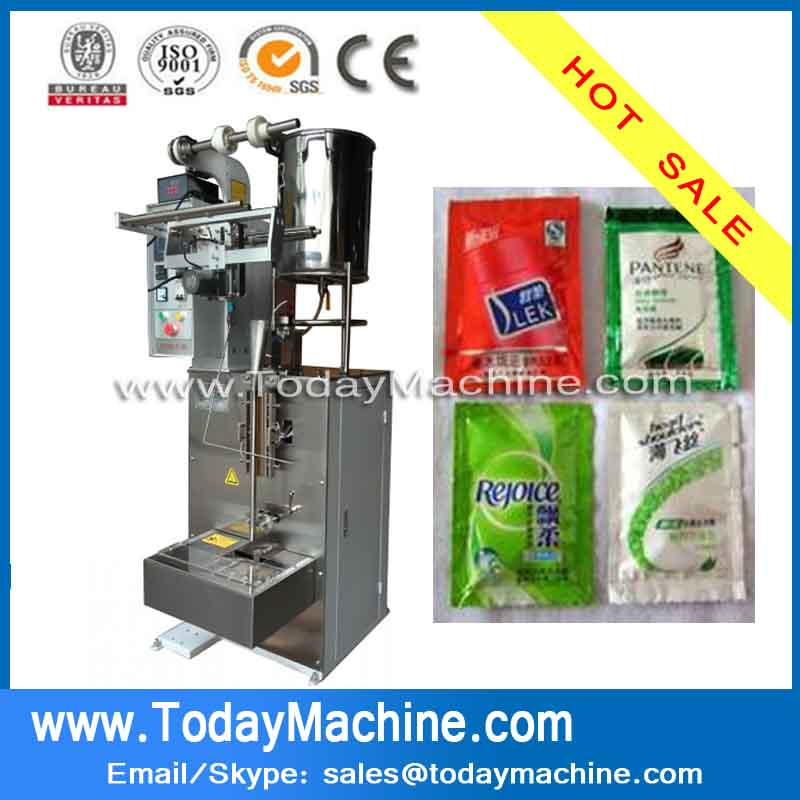 China supplier 5ml shampoo sachet packing machine for sale VFFS(China (Mainland))