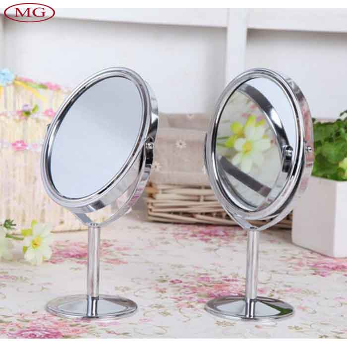 Metal vanity table promotion shop for promotional metal for Miroir double face