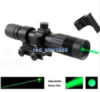 Оптика сильный зеленый лазерный целеуказатель фонарь осветитель, лазерный прицел ночного видения для охоты