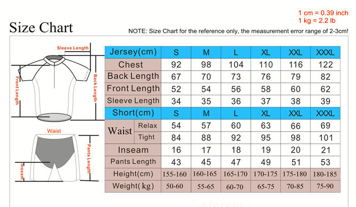 Mens Pants Size Chart Weight Henderson Thermoprene Mens