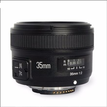 Buy Original YONGNUO 35mm f2 Lens YN35mm Large Aperture Auto Focus Lens Canon EOS 5D Mark III 450D 60D 7DII 6D DSLR Camera 35mm for $89.86 in AliExpress store