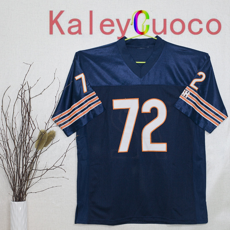 Retro star #72 Dick Butkus Embroidered Throwback Football Jersey M&N 48 50 52 54 56 Jerseys(China (Mainland))