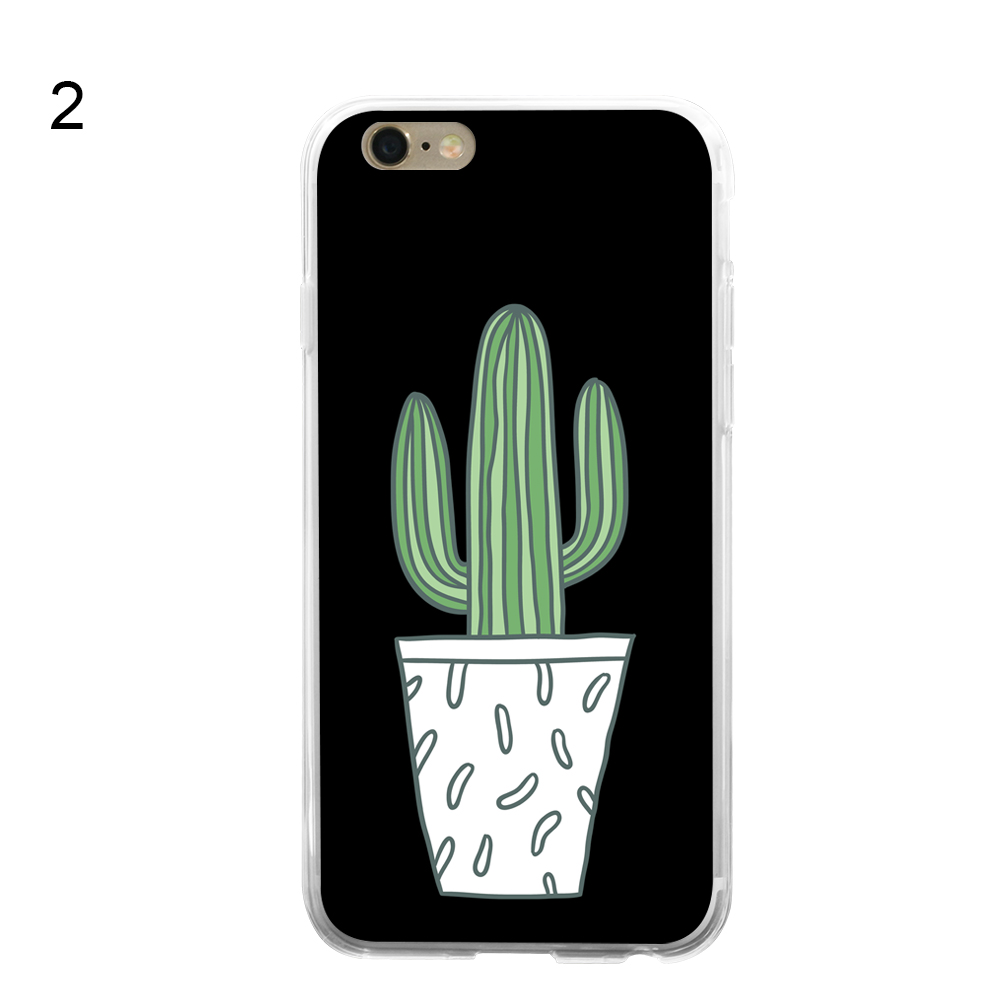 Cartoon Cactus Phone Case Cover for iPhone for Samsung Galaxy S8 for Xiaomi for Huawei